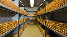 Rückholung der Auslandsbestände: Immer mehr deutsches Gold kehrt heim