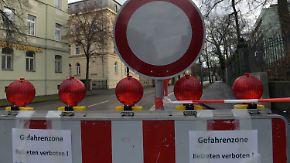 Größte Evakuierung seit Kriegsende: 1,8-Tonnen-Fliegerbombe in Augsburg entschärft