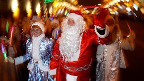 Bilder vom Fest rund um den Globus: So feiert die Welt Weihnachten
