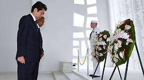 Historischer Besuch in Pearl Harbor: Obama und Abe setzen Zeichen der Versöhnung
