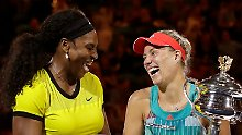 Spekulationen um US-Tennis-Star: Williams macht Kerber zur Nummer eins