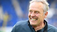 """""""Ich liebe halt Fußball"""": Freiburgs Kulttrainer Streich feiert Jubiläum"""