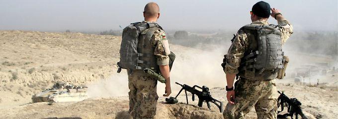 Die Bundeswehr sieht sich  bestärkt.