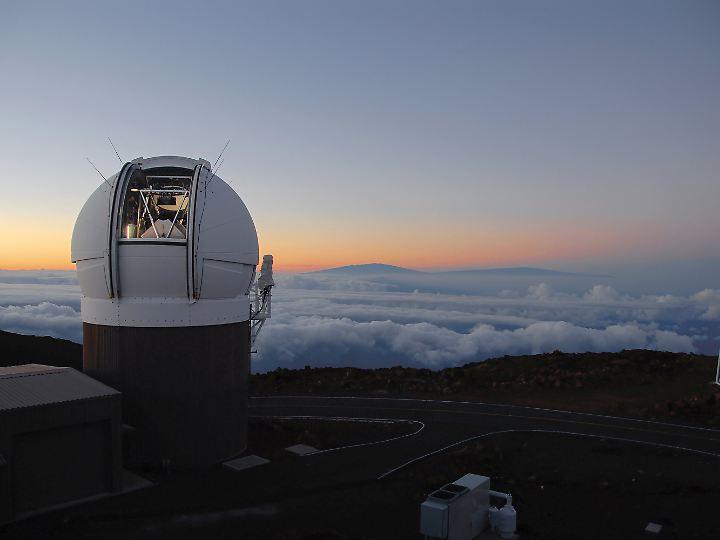 Pan-Starr1-Observatorium auf Haleakala Maui.