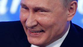 """Putin will keine US-Diplomaten ausweisen: Trump: """"Wusste immer, dass er sehr klug ist"""""""