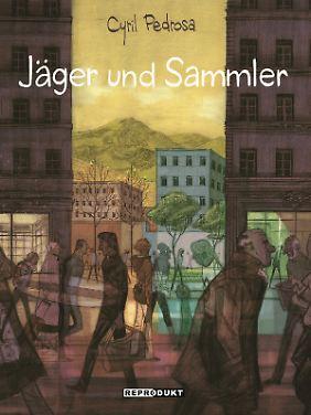 """""""Jäger und Sammler"""" ist bei Reprodukt erschienen, 336 Seiten im großformatigen Hardcover, 39 Euro."""