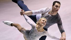 Deutschstunden statt Eiskunstlauf: Savchenko und Massot träumen von Olympiagold