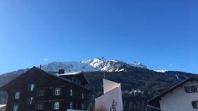 Selbst die Schweiz kämpft mit Schneemangel.