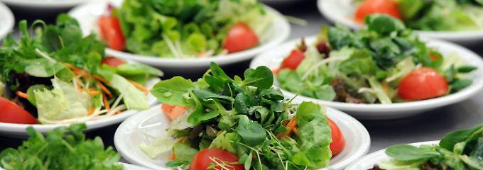 Vegetarische Kost bietet mehr als nur Salat.