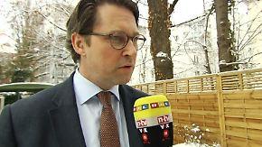 """Andreas Scheuer zur Sicherheitspolitik: """"Organisationsdebatten sind völlig verfehlt"""""""