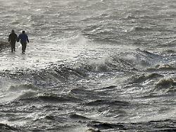Nordsee auch bei schlechtem Wetter toll ist