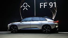 Start mit kleiner Panne auf der CES: Faraday FF91 will Tesla das Fürchten lehren