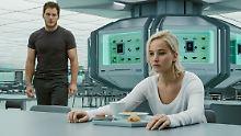 """""""Passengers"""": Sinnsuche im Weltall: Keine Hoffnung mehr für Jennifer Lawrence"""