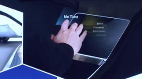 Eine Fingerbewegung reicht zur Steuerung aus.