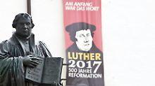 Aktionen rund ums Reformationsjahr: Luthers Erbe soll Touristen locken