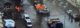 Tote und Verletzte bei Anschlag: Autobombe erschüttert Izmir