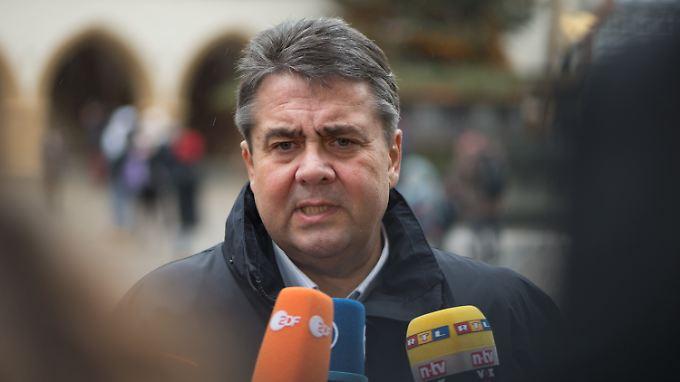 Das Thema Innere Sicherheit will Gabriel nicht dem politischen Gegner überlassen.