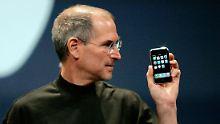 Das iPhone ist da: Als Jobs der Welt den Finger zeigte