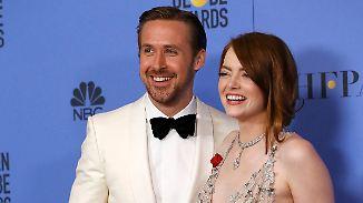Streep hält aufrüttelnde Rede: Gosling und Stone räumen bei Golden Globes ab