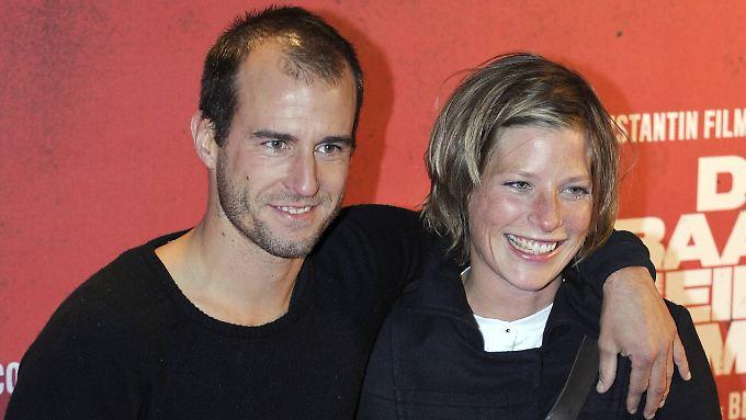 Mehmet Scholl und Frau Jessica bei einem ihrer seltenen gemeinsamen Auftritte im September 2008.