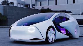 Futuristische Konzepte auf der CES: So fährt sich die Zukunft