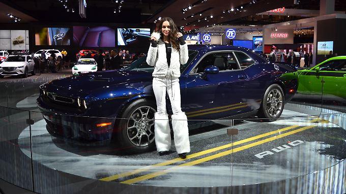 """Beim Dodge Challenger spricht der Hersteller von der """"Wiedergeburt einer Legende""""."""