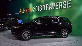 Chevrolet bringt den Traverse zurück.