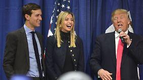 Schwiegersohn zum Chefberater ernannt: Trump ignoriert Gesetz gegen Vetternwirtschaft