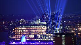 Die Elbphilharmonie - wenn das kein Spektakel wird.