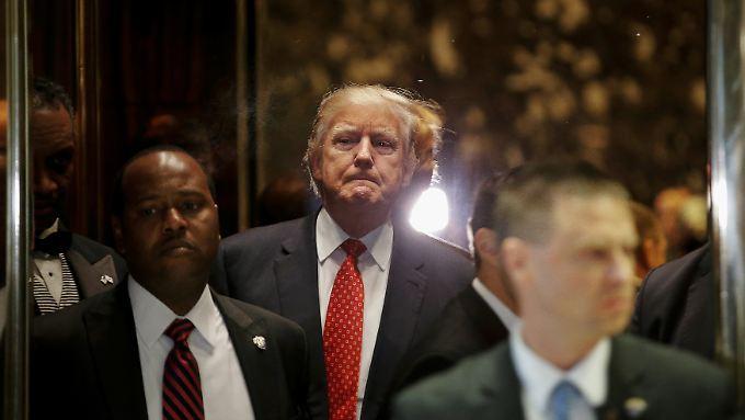 Donald Trump weist die Berichte als unwahr zurück.