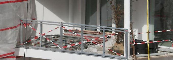 Ein Balkon erhöht den Gebrauchswert einer Wohnung.