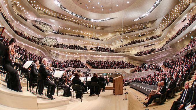 Der Konzertsaal ist das Herzstück der Elbphilharmonie.