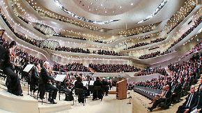 Konzerthaus der Superlative in Hamburg: Elbphilharmonie eröffnet im Zeichen der Freude
