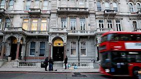 Hier sitzt die Londoner Sicherheitsfirma Orbis Business Intelligence.
