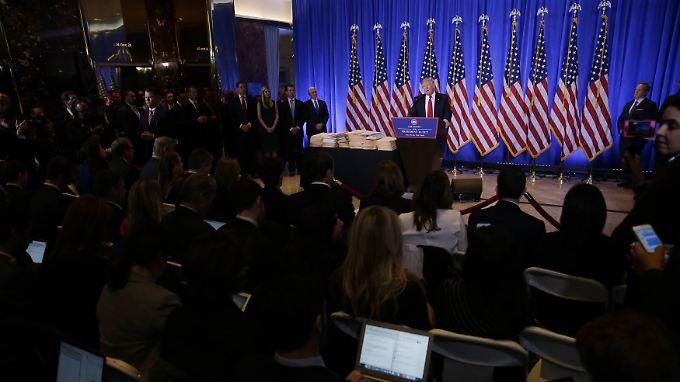 Wütende Pressekonferenz: Trump reagiert empört auf Russland-Vorwürfe