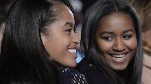 """""""Macht Fehler - ihr dürft das!"""": Bush-Töchter schreiben Obama-Mädels"""