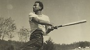 Auf mehreren Reisen durch die Vereinigten Staaten dokumentierte er den American Way of Life. (Baseball)