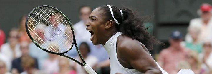 Auch abseits des Courts erfolgreich: Serena Williams ist schwanger.
