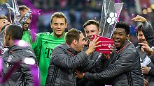 Telekom Cup in Düsseldorf: Überzeugende Bayern gewinnen Härtetest