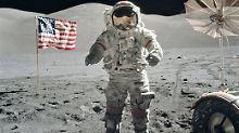 """""""Apollo""""-Astronaut Eugene Cernan: Letzter Mann auf dem Mond ist tot"""