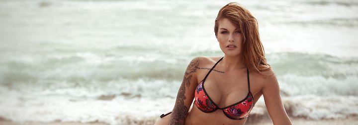 Buhlen im Bikini: B... B... Bitte, lieber Bachelor, nimm mich