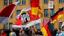 Schwere Niederlage für Bundesrat: Karlsruhe lehnt NPD-Verbotsantrag ab