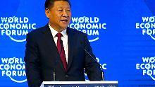 Weltwirtschaftsforum in Davos: Chinas Staatschef warnt vor Handelskrieg