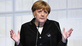 "Britischer Austritt aus EU-Binnenmarkt: Merkel warnt vor ""Rosinenpickerei"""