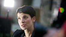 """Kritik an umstrittener Rede: Petry: Höcke ist """"Belastung"""" für die AfD"""