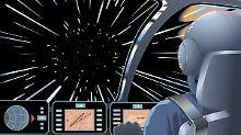 Der Alcubierre-Antrieb: Wie man schneller als Licht reisen könnte