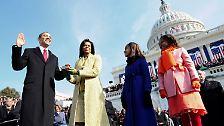 Von Buchanan bis Obama: So feierten US-Präsidenten ihre Inaugurationen