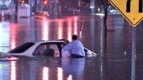 Schnell schmelzende Schneemassen: Teile der USA versinken im Hochwasser
