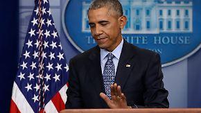 """""""Will erst einmal ruhig sein"""": Obama verrät seine Zukunftspläne"""