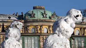Klirrende Kälte und Glättegefahr: Winterwetter in Deutschland ist zweigeteilt